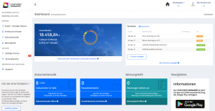 Eigenheim Manager - Desktop - Dashboard